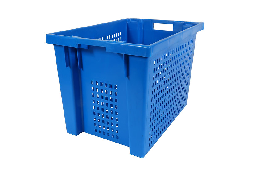 Stack & Nest Container Perforated 70 litres