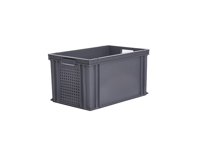 Euro Stacking Tray Perforated 65 Litres