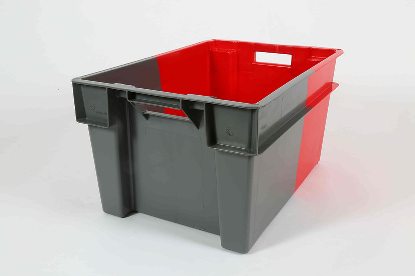 Two Tone Stacking and Nesting Tray Solid - 50 Litres