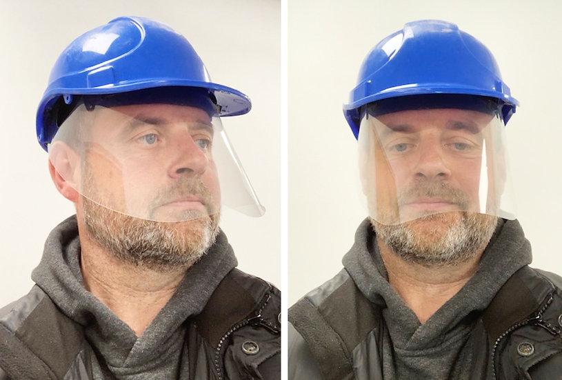 Hard Hat Protective Face Shield