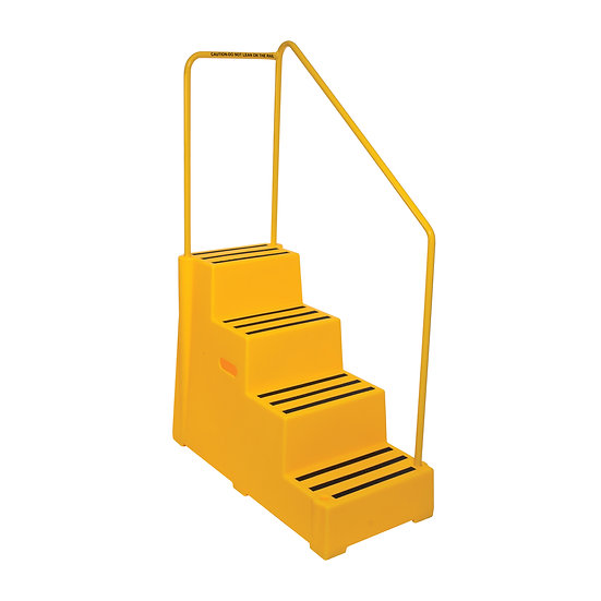 Heavy Duty Plastic Safety 4 Step with Handle