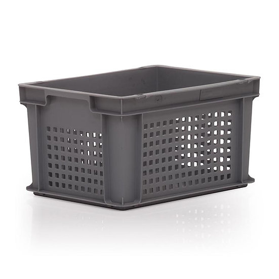Euro Stacking Tray Perforated 20 Litres