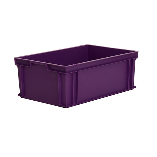 Euro Stacking Tray Solid 43 litres