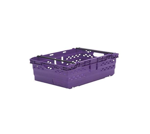 NEST6419 Stack / nest crate purple