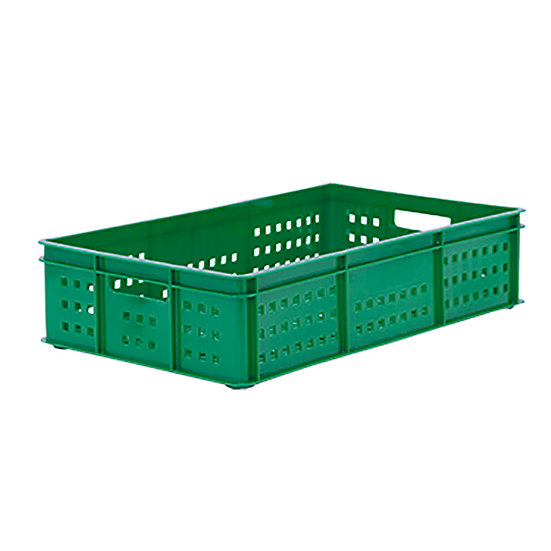 "Bakery Tray (30x18"") - Perforated sides/Base with Hand holes"