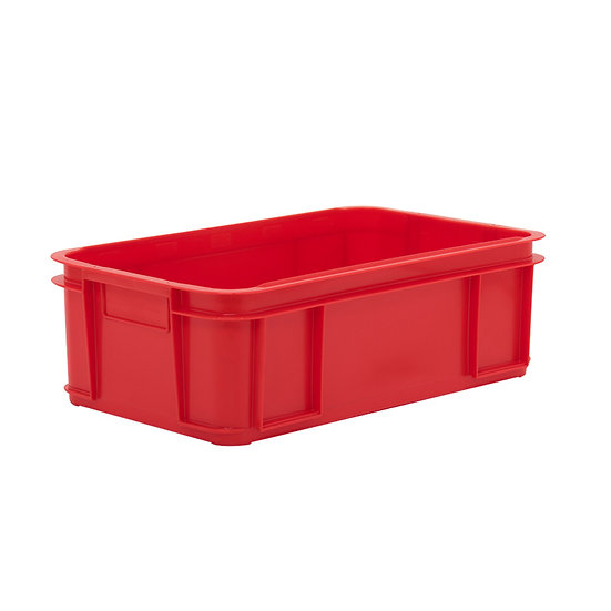 Solid Stacking Tray with hand grips 38 Litre