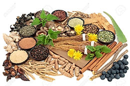 Raw Herbs and Powders