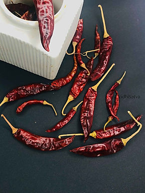 Whole Dry Red Chilli, Lakhnowi, 100gms