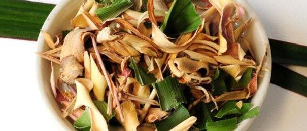 Sun Dried Lemon Grass Tea   20/30gms  Thai Produce