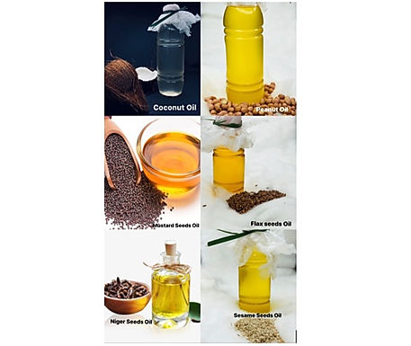 Combo pack of 6 Wood Pressed Edible Oils | 100ml Each