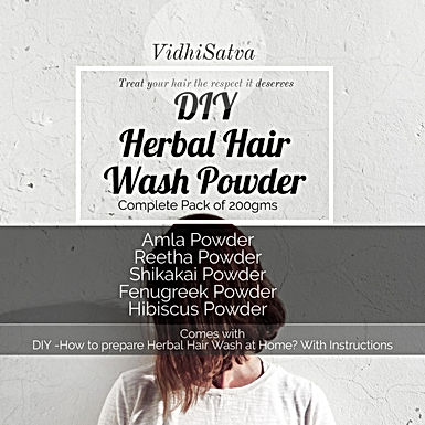 Herbal Hair Wash Powder |  New Variant | 200gms