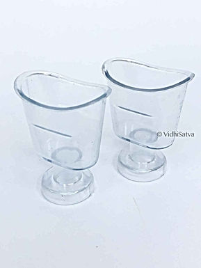 EYE WASH Transparent CUP - Pack of 2