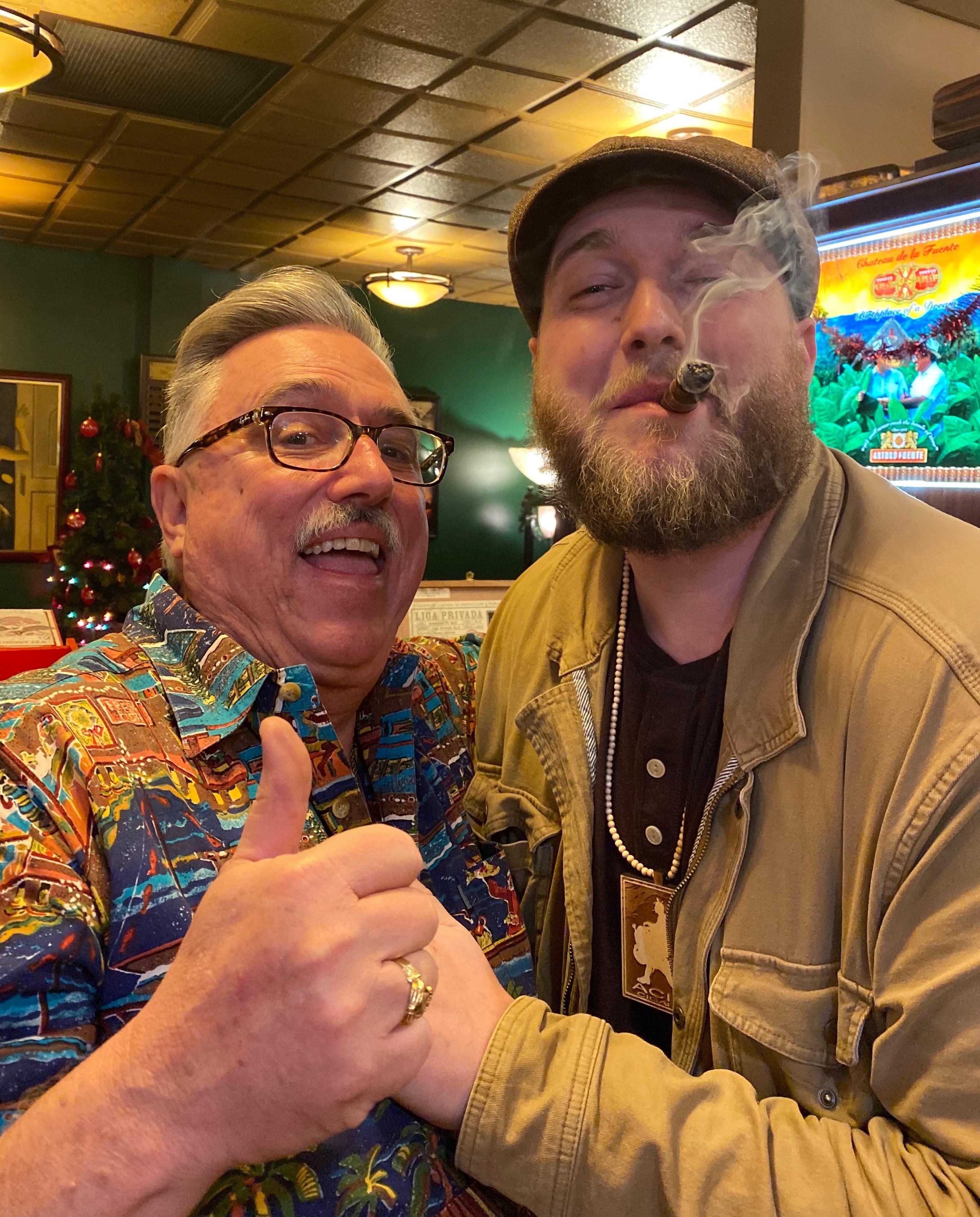The Colonel & Kyle Davis