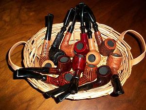Basket Pipes at Cigar Cigar
