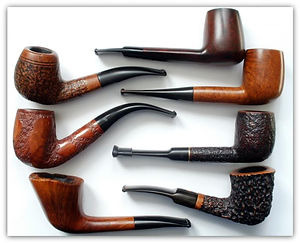 Estate Pipes at Cigar Cigar