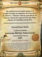 Certified Tobacconist