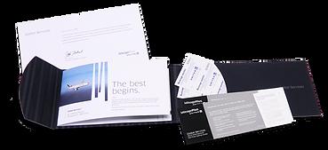 United MileagePlus Rewards Brochure with Inserts