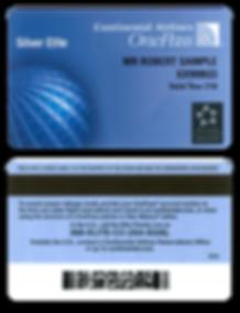 Thermal Imaging Plastic Card Sample