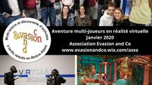 """Retour en images sur la sortie """"Aventure en réalité virtuelle"""" à Lyon"""