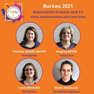 Membres du bureau 2021