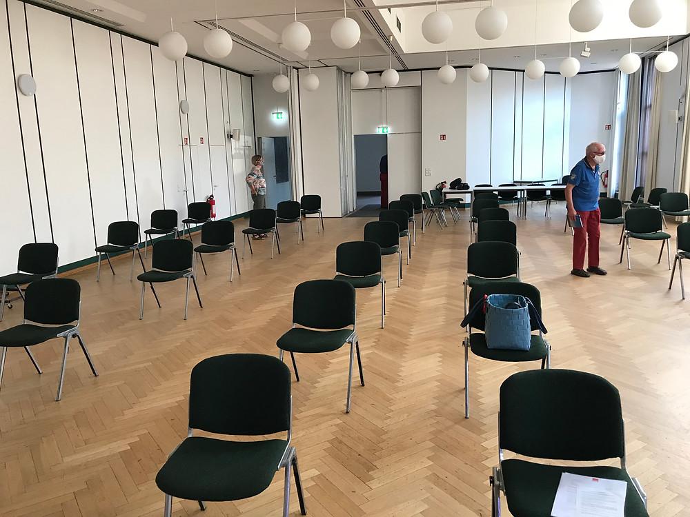 Vorbereitung des SPD-Ortsvereins Uetersen in Coronazeiten