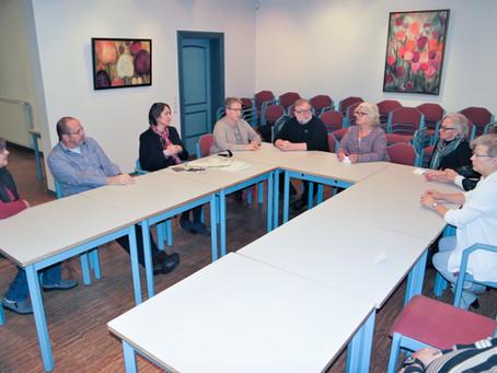 Austausch mit dem forum in der Kulturkate