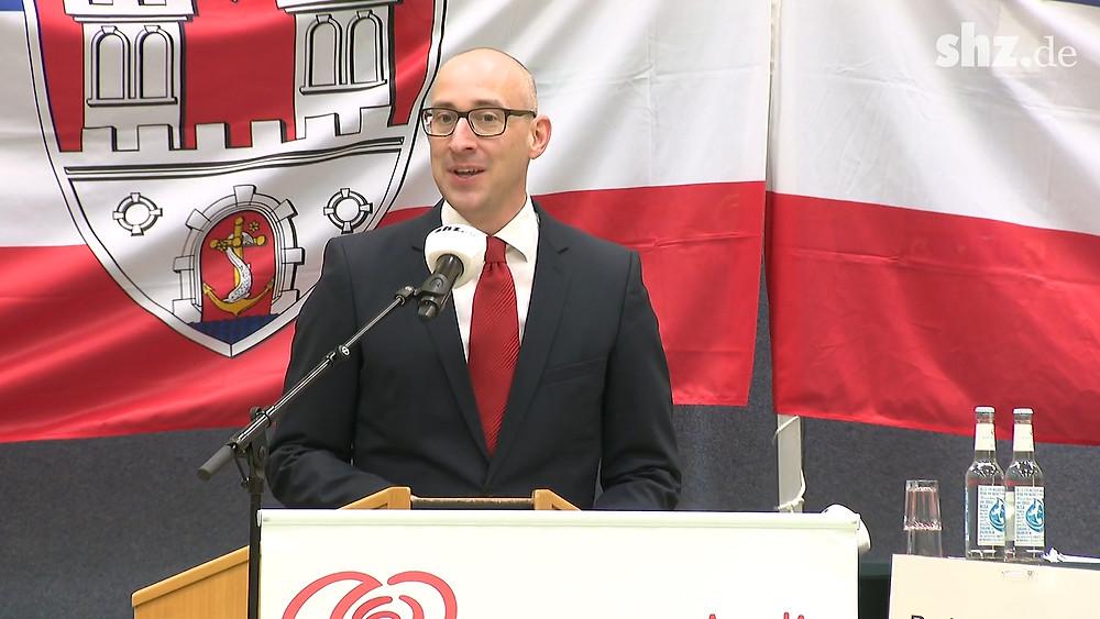 Öffentliche Vorstellung Bürgermeisterwahl Uetersen: Rede Dirk Woschei