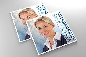 Flyer Verena Jeske Bürgermeisterwahl Kampagne Bad Bramstedt