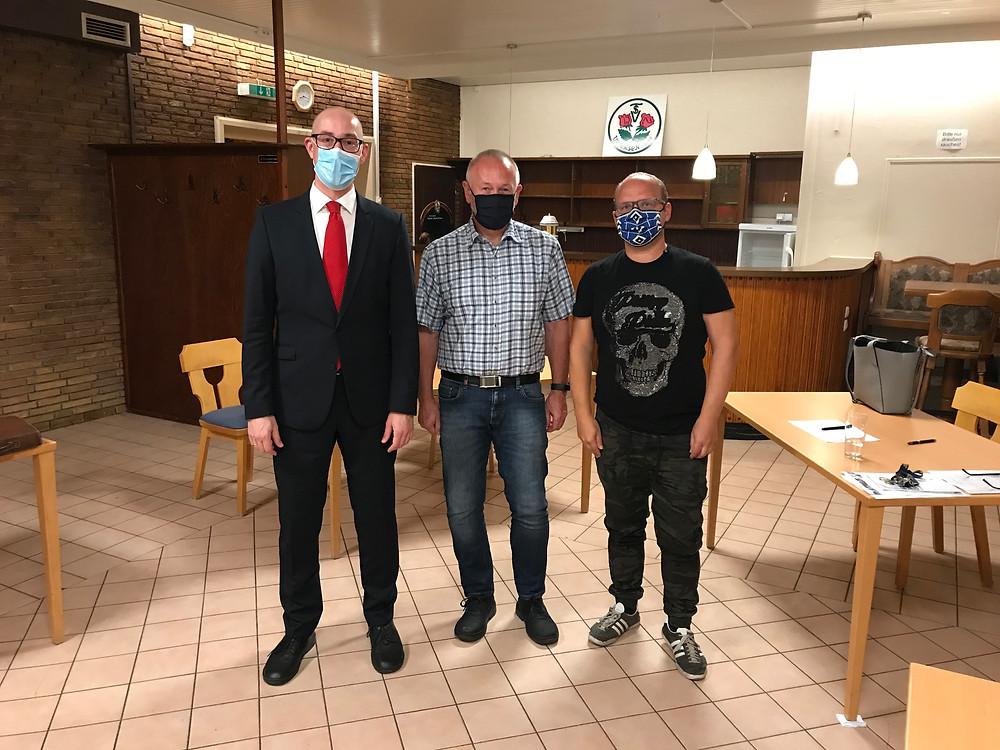 Woschei, Schölermann und Vater von den Sportvereinen in Uetersen