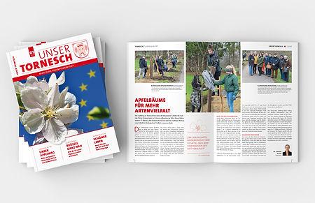 Magazin Unser Tornesch Titelseiten Innenseiten