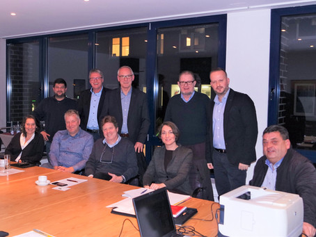 Zu Gast beim Vorstand von Henstedt-Ulzburg Marketing