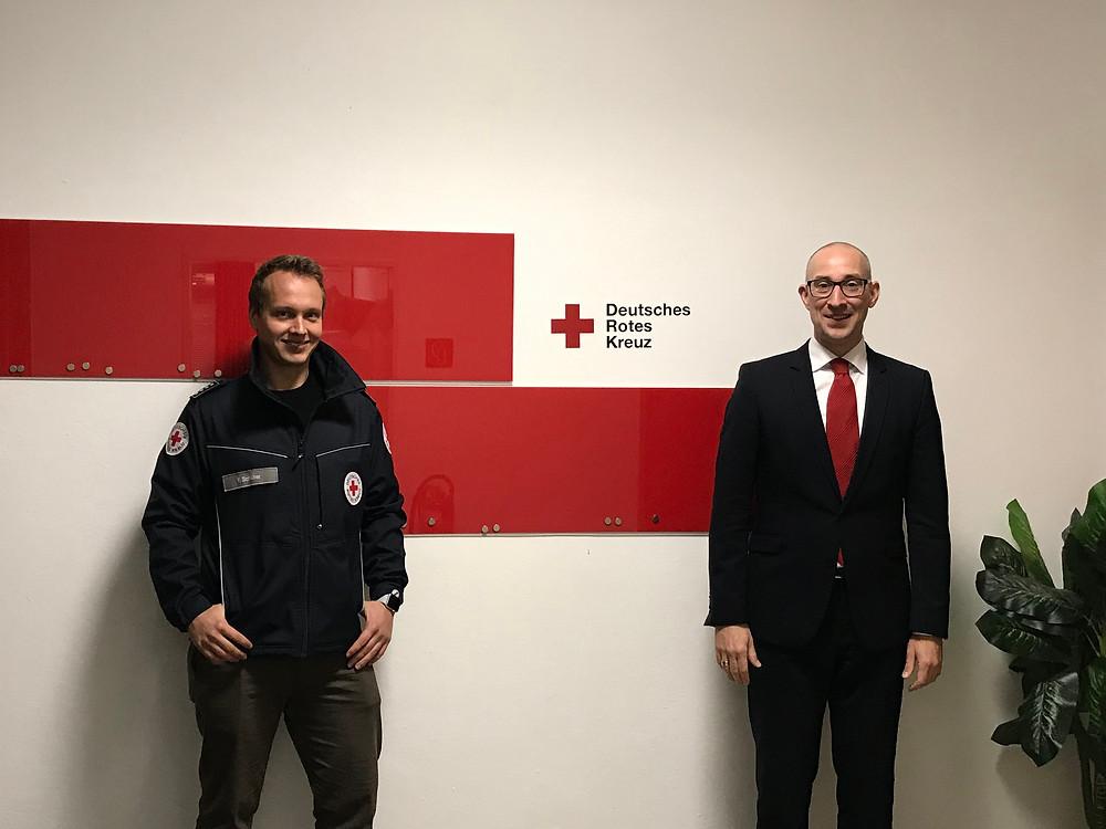 Deutsches Rotes Kreuz – Ortsverein Uetersen e.V.: Florian Schlüter und Dirk Woschei