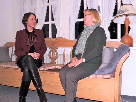 Treffen mit Annemarie Wenk von BürgerAktiv