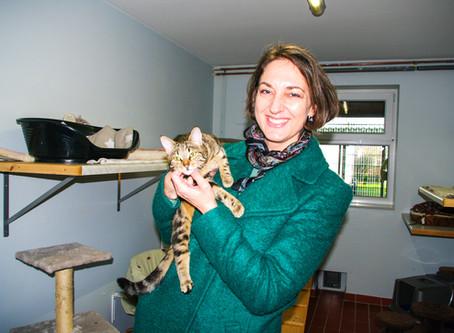 Besuch im Tierheim im Kirchweg