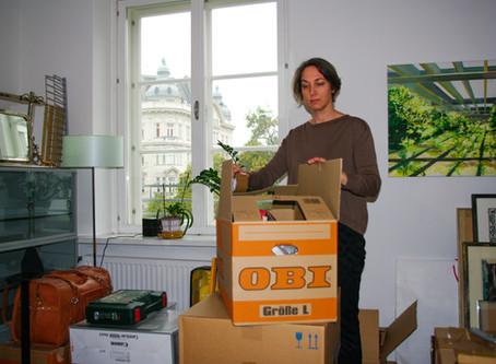 Ein letztes Mal in Wien und Umzug nach Eutin
