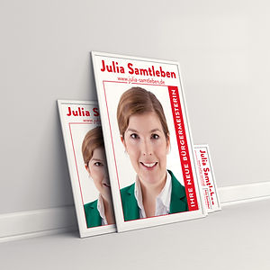 Plakate Julia Samtleben