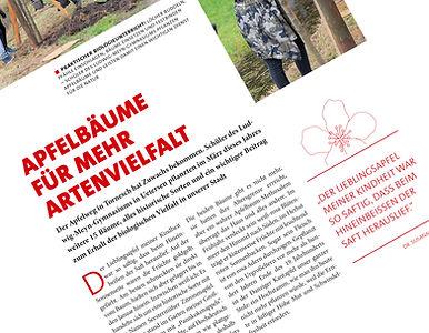 Ausschnitt Magazin Unser Tornesch