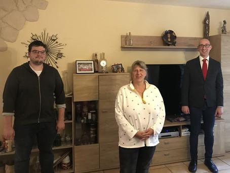 Treffen mit den CDU-Ortsvereinsvorsitzenden