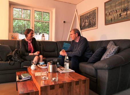 Gespräch mit Altbürgermeister Volker Dornquast