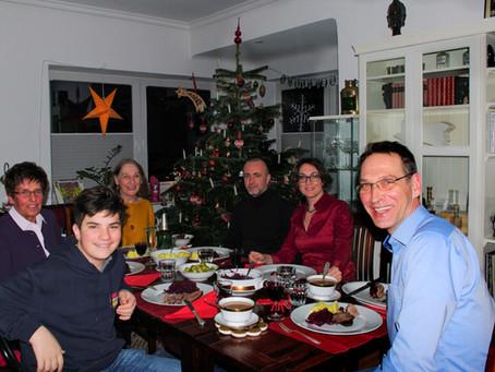 Heiligabend im Kreise der Familie