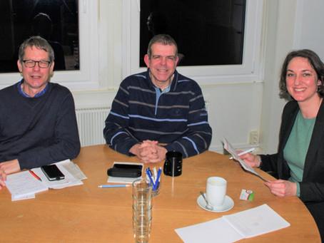 Gedankenaustausch mit dem Sportverein Henstedt-Ulzburg