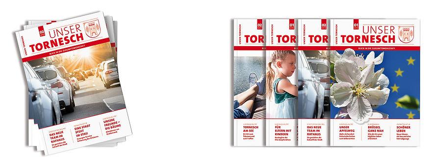 Magazin Zeitschrift Tornesch Titelbilder