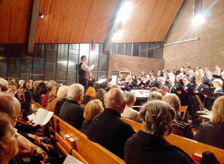 Ein besonderer Sonntagnachmittag: Brahms' Requiem in der Kreuzkirche