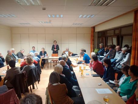 Sitzung des SPD Ortsvereins: Die überzeugende Zustimmung der SPD gibt mir Rückenwind