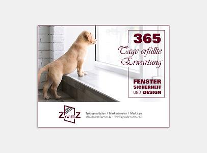 Anzeigenkampagne – Fenster Zywietz