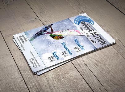 Surfschule Wangerooge Plakate
