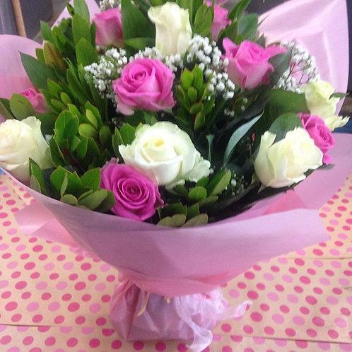 Smaller Headed Rose Bouquet