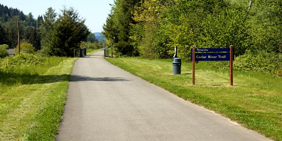 Bike Ride along Cedar River Trail