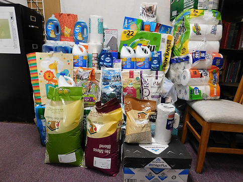Items that were donated in 2017!