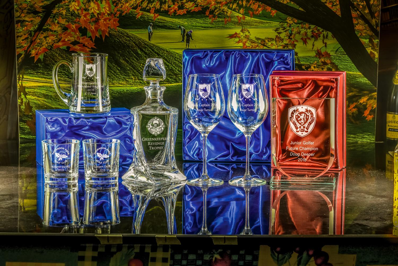 Majestic Crystal 2019 Boxed pair of Toscana Tumblers, Pint Bowed Tankard, Barley Decanter, Boxed pai